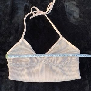Sparkly baby pink bralette from American Eagle 💕
